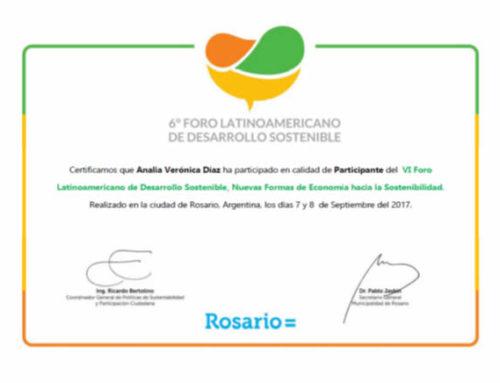 Foro Latinoamericano Desarrollo Sostenible